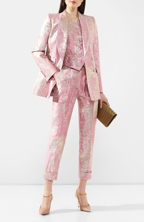 Женский жилет DOLCE & GABBANA розового цвета, арт. F79H6T/HJMJR | Фото 2