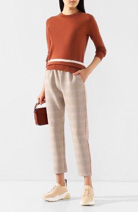 Женская кашемировый пуловер JOSEPH оранжевого цвета, арт. JF004414 | Фото 2