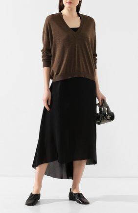 Женская пуловер UMA WANG коричневого цвета, арт. P0 M UK7158 | Фото 2