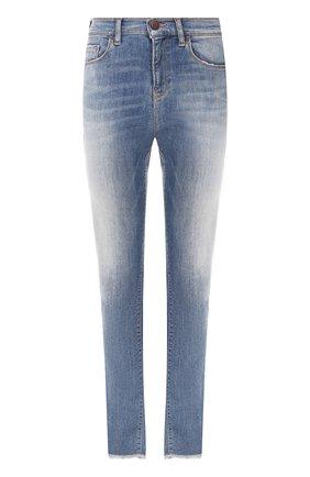 Женские джинсы EMPORIO ARMANI синего цвета, арт. 3H2J20/2D3RZ | Фото 1