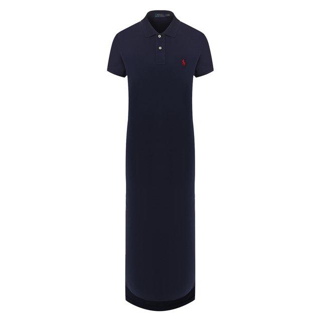 Хлопковое платье Polo Ralph Lauren — Хлопковое платье
