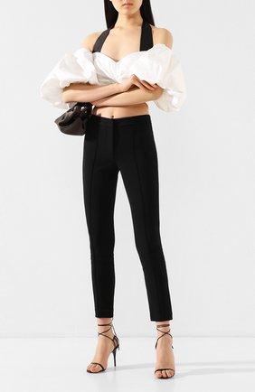 Женские брюки ADAM LIPPES черного цвета, арт. AL501DY | Фото 2