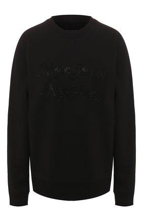 Женский хлопковый свитшот MARC JACOBS (THE) черного цвета, арт. C6000040 | Фото 1