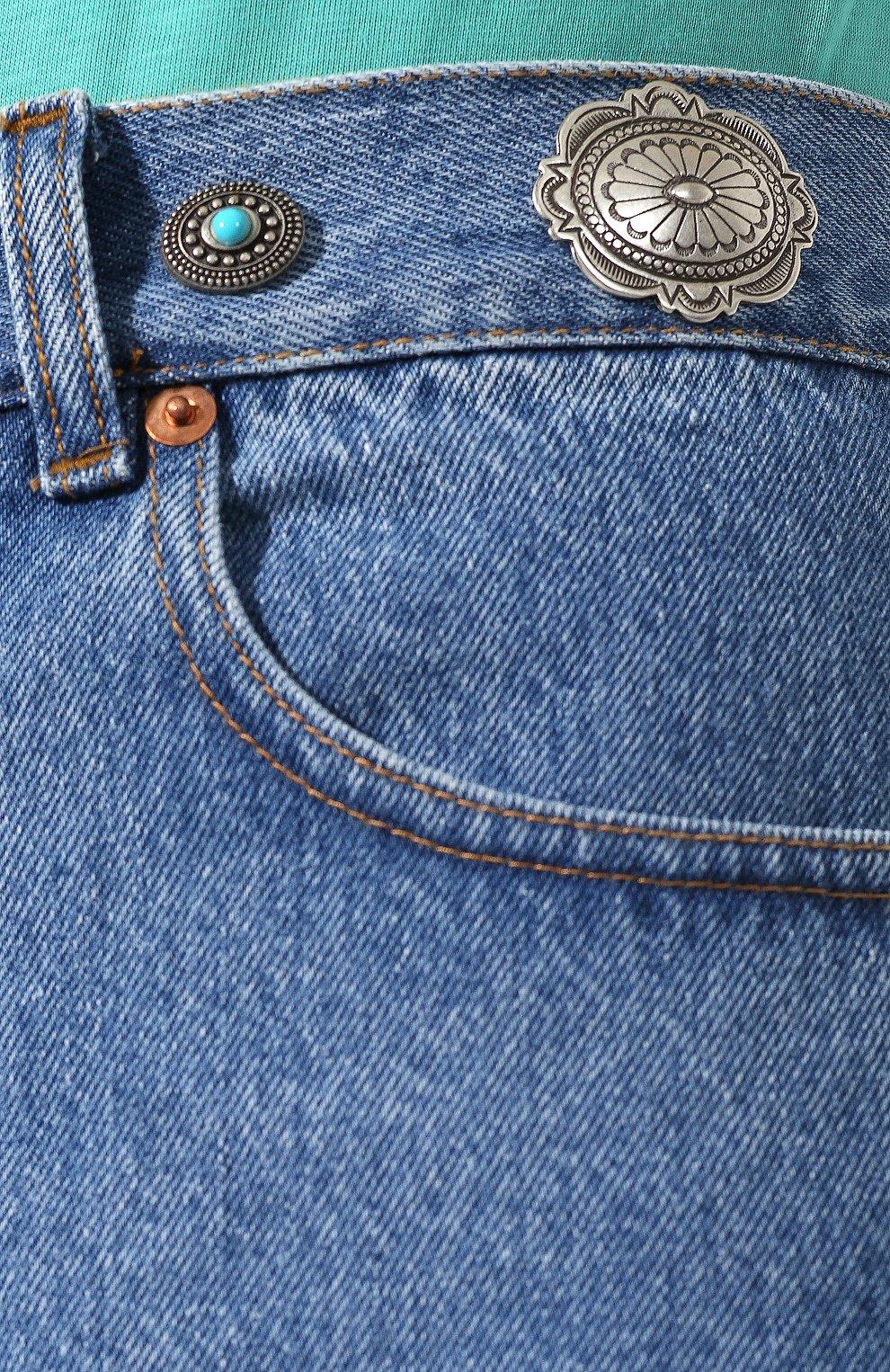 Женские джинсовые шорты FORTE DEI MARMI COUTURE синего цвета, арт. 20SF5853 | Фото 5 (Женское Кросс-КТ: Шорты-одежда; Кросс-КТ: Деним; Длина Ж (юбки, платья, шорты): Мини; Материал внешний: Хлопок; Стили: Кэжуэл; Статус проверки: Проверена категория)