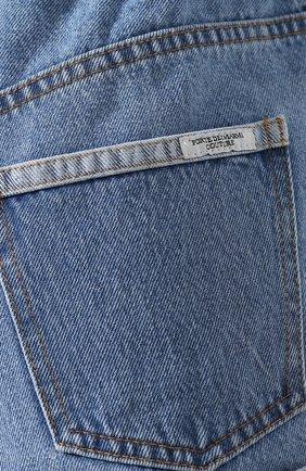 Женские джинсовые шорты FORTE DEI MARMI COUTURE синего цвета, арт. 20SF5850   Фото 5 (Женское Кросс-КТ: Шорты-одежда; Кросс-КТ: Деним; Длина Ж (юбки, платья, шорты): Мини; Материал внешний: Хлопок; Стили: Кэжуэл; Статус проверки: Проверена категория)