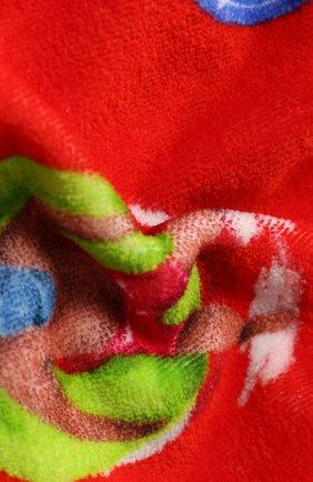 Мужские хлопковое полотенце ERMENEGILDO ZEGNA красного цвета, арт. N7P001030 | Фото 2