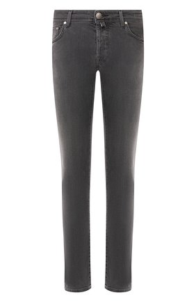 Мужские джинсы JACOB COHEN серого цвета, арт. J688 C0MF 00947-W2/53 | Фото 1