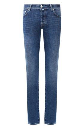 Мужские джинсы JACOB COHEN синего цвета, арт. J688 C0MF 00918-W2/53   Фото 1