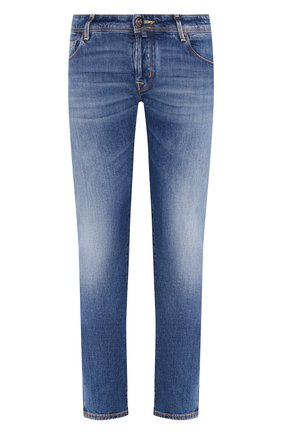 Мужские джинсы JACOB COHEN синего цвета, арт. J622 C0MF TA 00540-W3/53 | Фото 1