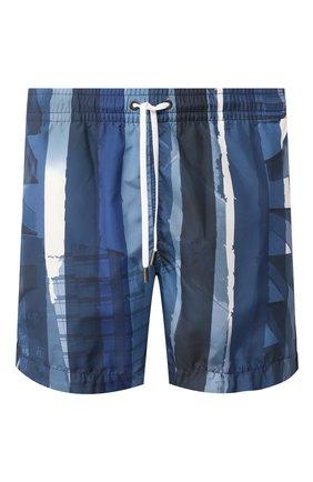 Детского плавки-шорты ERMENEGILDO ZEGNA синего цвета, арт. N7B540990 | Фото 1