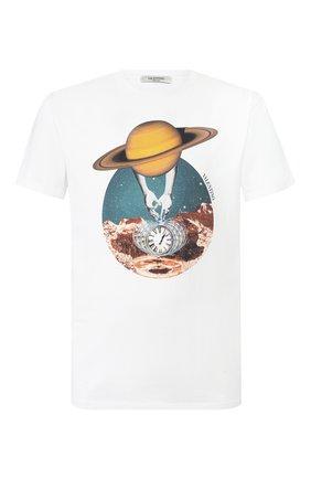 Мужская хлопковая футболка VALENTINO белого цвета, арт. TV3MG04P60M | Фото 1