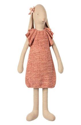 Детского игрушка заяц 5 MAILEG коричневого цвета, арт. 16-9500-00 | Фото 1