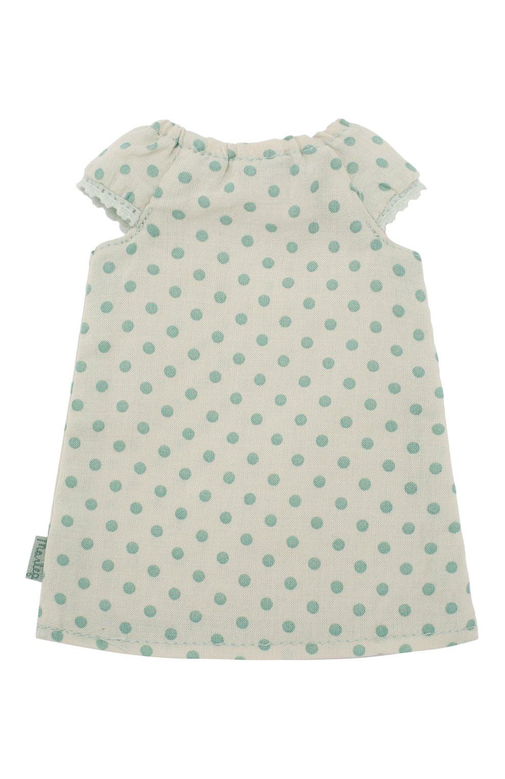 Детского одежда для игрушки ночная рубашка 2 MAILEG зеленого цвета, арт. 16-9203-01   Фото 2