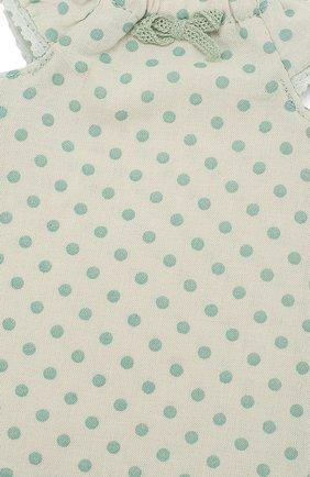 Детского одежда для игрушки ночная рубашка 2 MAILEG зеленого цвета, арт. 16-9203-01   Фото 3