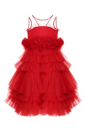 Детское платье charlotte SASHA KIM красного цвета, арт. УТ-00000311 | Фото 1