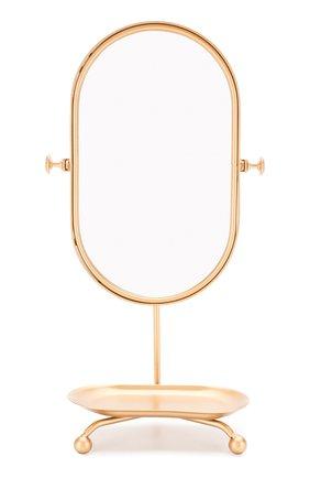 Детского игрушка настольное зеркало MAILEG золотого цвета, арт. 21-9100-00 | Фото 1
