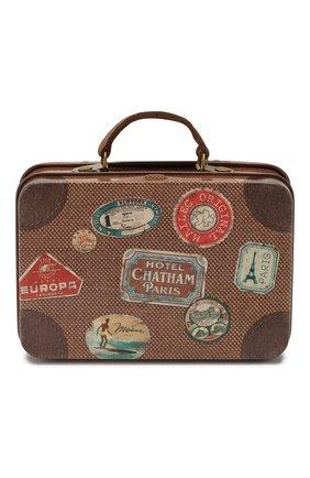Детский игрушка чемодан MAILEG коричневого цвета, арт. 20-7015-00 | Фото 1