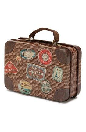 Детский игрушка чемодан MAILEG коричневого цвета, арт. 20-7015-00 | Фото 2