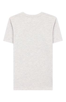 Детская футболка KENZO серого цвета, арт. KQ10678 | Фото 2