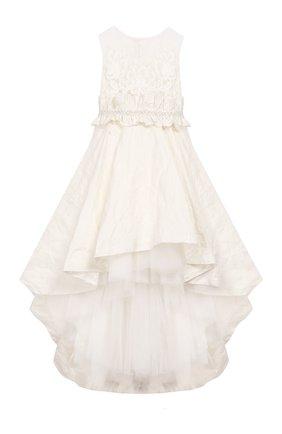 Детское платье DESIGNERS CAT бежевого цвета, арт. 100000K01000396/10A-12A | Фото 1