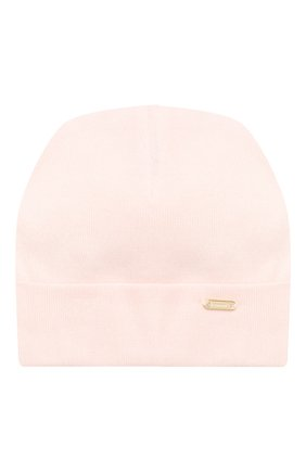 Детского хлопковая шапка IL TRENINO розового цвета, арт. 20 6353/E0 | Фото 1