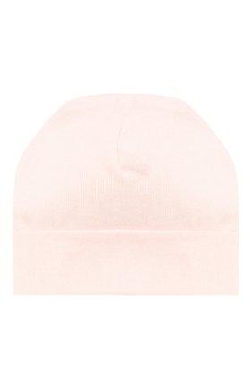 Детского хлопковая шапка IL TRENINO розового цвета, арт. 20 6353/E0 | Фото 2