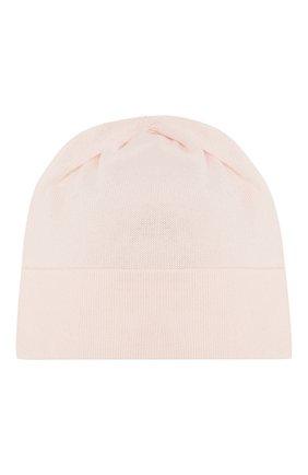 Детского хлопковая шапка IL TRENINO розового цвета, арт. 20 6605/E0 | Фото 2