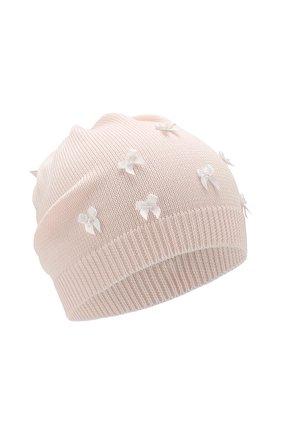 Детского хлопковая шапка IL TRENINO розового цвета, арт. 20 6717/E0 | Фото 1