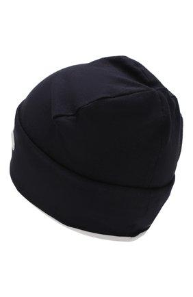 Детского хлопковая шапка IL TRENINO темно-синего цвета, арт. 20 6876/E0 | Фото 2