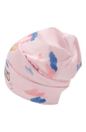 Детского хлопковая шапка IL TRENINO розового цвета, арт. 20 6918/E0 | Фото 2