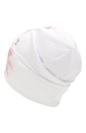 Детского хлопковая шапка IL TRENINO белого цвета, арт. 20 6924/E0 | Фото 2