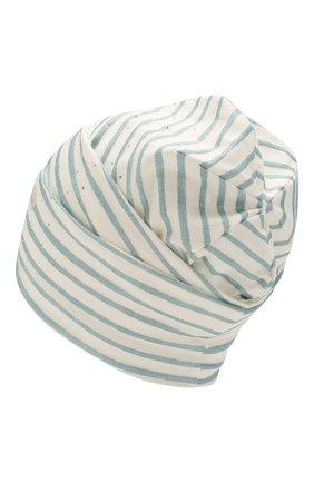 Детского хлопковая шапка IL TRENINO белого цвета, арт. 20 6929/E0 | Фото 2