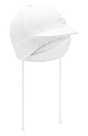 Детская хлопковая кепка IL TRENINO белого цвета, арт. 20 7262/E0 | Фото 1