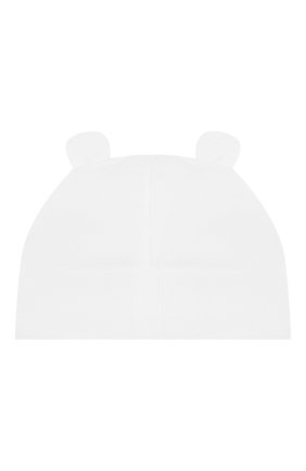 Детского хлопковая шапка IL TRENINO белого цвета, арт. 20 7277/E0 | Фото 2