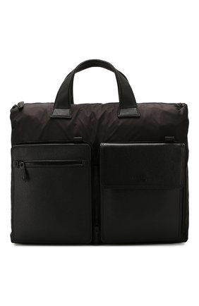 Мужская сумка-тоут SALVATORE FERRAGAMO черного цвета, арт. Z-0726385 | Фото 1