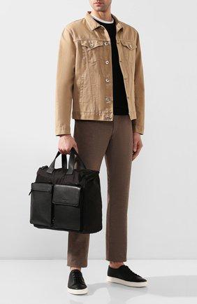 Мужская сумка-тоут SALVATORE FERRAGAMO черного цвета, арт. Z-0726385 | Фото 2