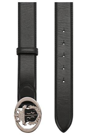 Мужской кожаный ремень BILLIONAIRE черного цвета, арт. B20A MVA0522 BLE071N | Фото 2
