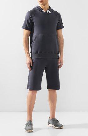 Мужские текстильные кроссовки 360 lp walk LORO PIANA бирюзового цвета, арт. FAI1540   Фото 2