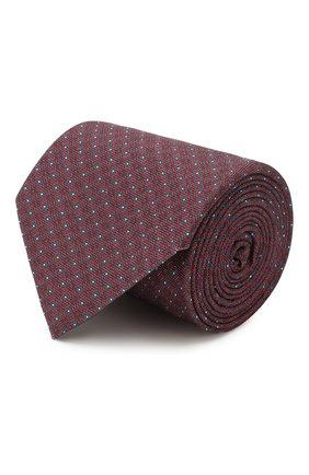 Мужской шелковый галстук BRIONI красного цвета, арт. 062H00/P940H | Фото 1