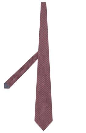 Мужской шелковый галстук BRIONI красного цвета, арт. 062H00/P940H | Фото 2