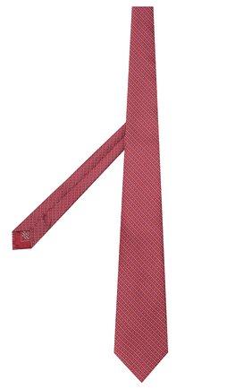 Мужской шелковый галстук BRIONI красного цвета, арт. 062H00/P941P | Фото 2