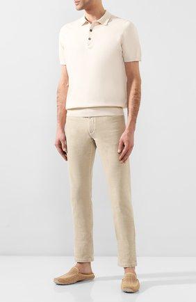 Мужские замшевые сабо ALDO BRUE светло-бежевого цвета, арт. AB0088G-NS | Фото 2
