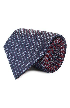Мужской шелковый галстук BRIONI красного цвета, арт. 062L00/P940J | Фото 1