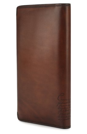 Мужской кожаное портмоне BERLUTI коричневого цвета, арт. N152808 | Фото 2