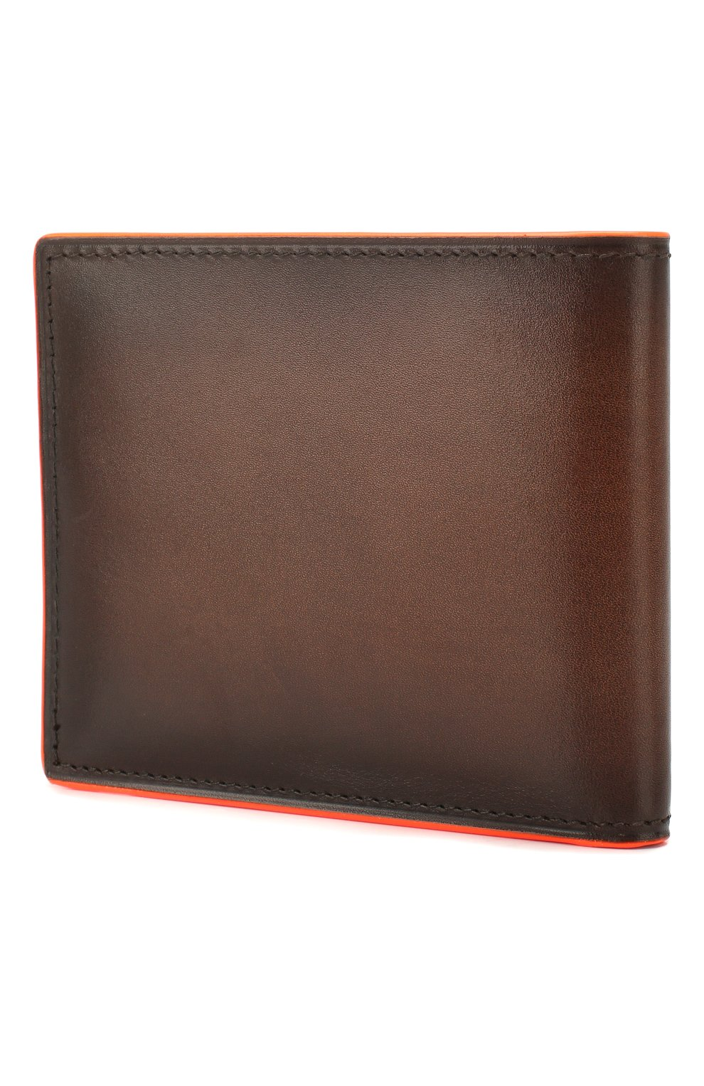 Мужской кожаное портмоне BERLUTI коричневого цвета, арт. N202367 | Фото 2