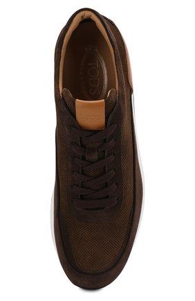 Замшевые кроссовки | Фото №5