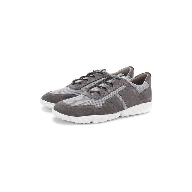 Комбинированные кроссовки Tod's — Комбинированные кроссовки