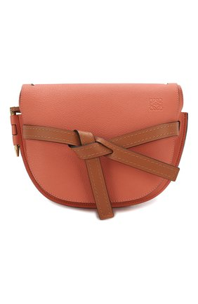 Женская сумка gate small LOEWE кораллового цвета, арт. 321.12.T20   Фото 1