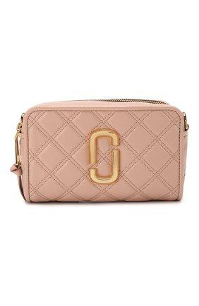Женская сумка the softshot 21 MARC JACOBS (THE) бежевого цвета, арт. M0015419 | Фото 1
