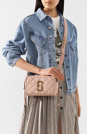 Женская сумка the softshot 21 MARC JACOBS (THE) бежевого цвета, арт. M0015419 | Фото 2